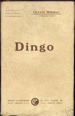 """Dingo"", Flammarion, 1923"