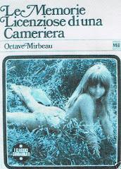 """Traduction italienne du """"Journal d'une femme de chambre"""", 1970"""