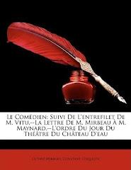 """Édition américaine du """"Comédien"""", Nabu Press, 2010"""