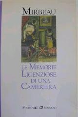 """Traduction italienne du """"Journal d'une femme de chambre"""", 1994"""