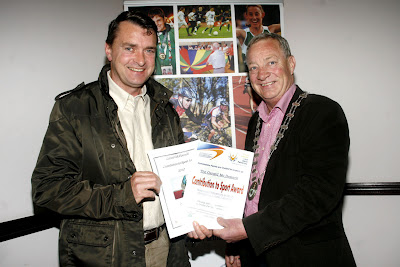 MEDIA IMAGES Gerard McDonnell Contribution To Sport Award