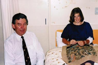 Tune up 1991 - Prof Phelan and I