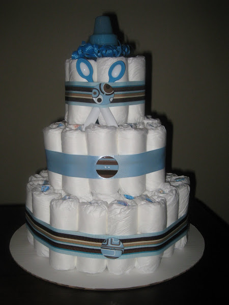 3 Tier Boy- Blue/Brown