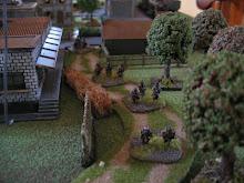 Infanterie française 15mm en progression