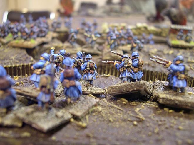 15MM WW1 - L'assaut des Bleuets