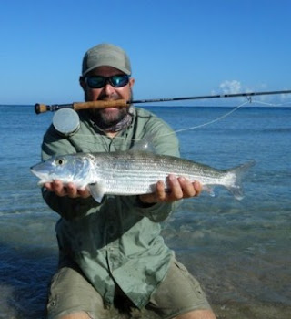 Big Bonefish Fly Fishing