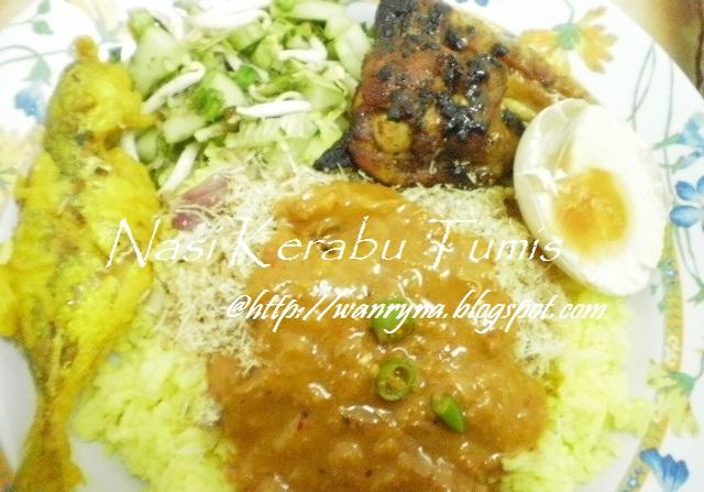Nasi Kerabu Tumis Kelantan
