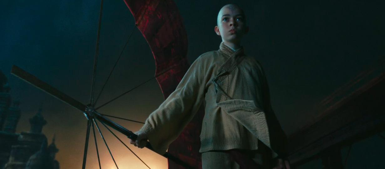 "Avatar a Lenda de Aang: Noah ringer "" Aang "" em The last ..."