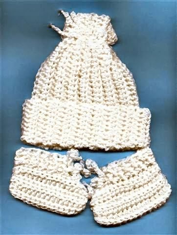 Crochet Patterns Only: Easy Crocheted Newborn Baby Hat ...
