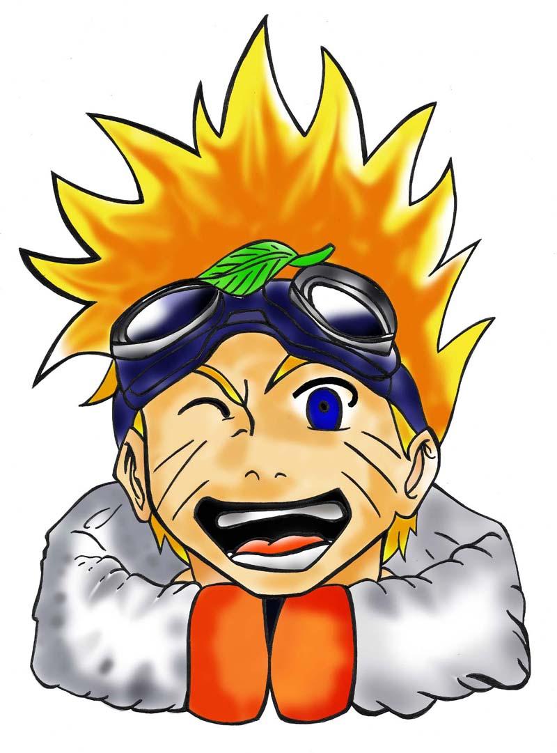 Naruto Colorido ~ graphis estudio unidade santana Desenhos