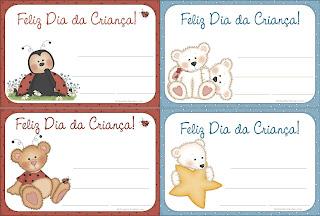Cartão Dia das Crianças para crianças