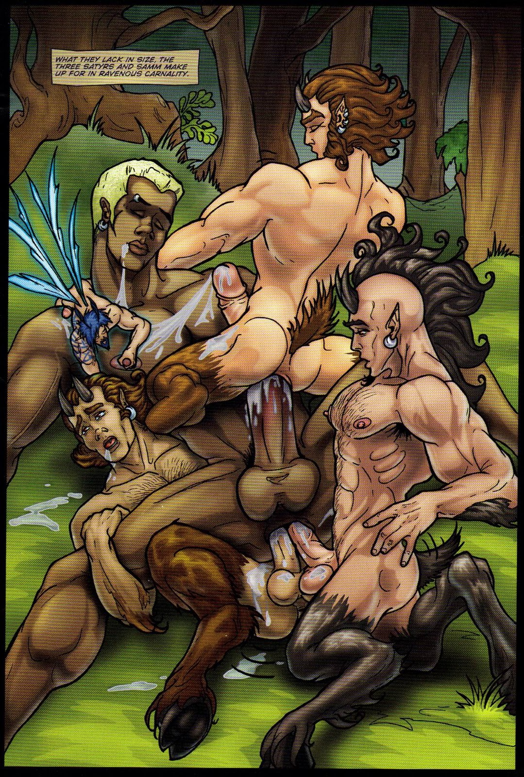 Erotic drawings satyr fucking woman on top smut movie