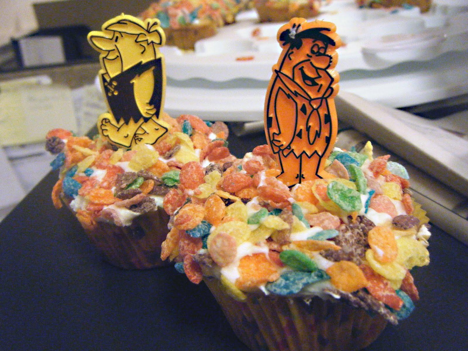 Flintstones Birthday Cake