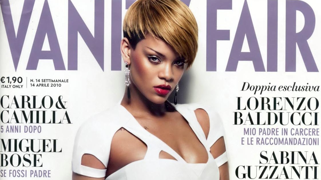 Rihannas Vanity Fair