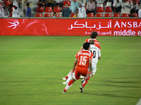 AL Arabi and AL Sadd fight it out on the pitch