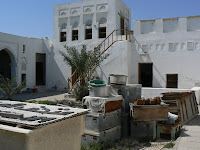 The courtyard of the former Al Wakra museum