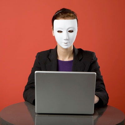Blogging from behind a mask...