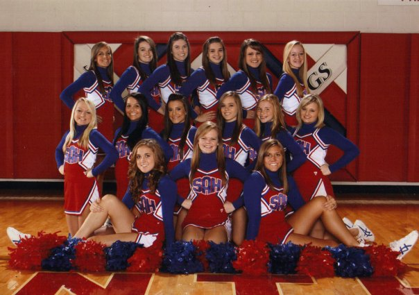 With basketball season starting this week, cheerleading season beings as