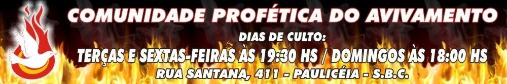 PROFÉTICO RESURGIMIENTO DE LA COMUNIDAD