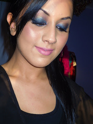Smokey Eye Makeup Steps. Eye Makeup Decals. Smokey Eye