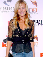 Malin Akerman 2010 Long Wavy Blonde Hairstyles