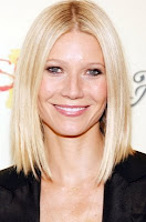 Gwyneth Paltrow's Medium Hairstyle With Bangs