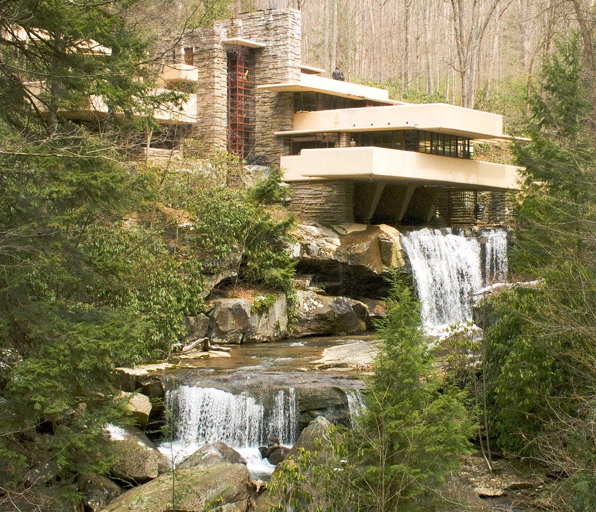 Books of circe frank lloyd wright 39 s falling water house Home run architecture