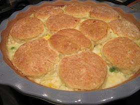 Aldi Gourmet Biscuit Topped Chicken Pot Pie