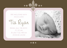Birth announcement examples