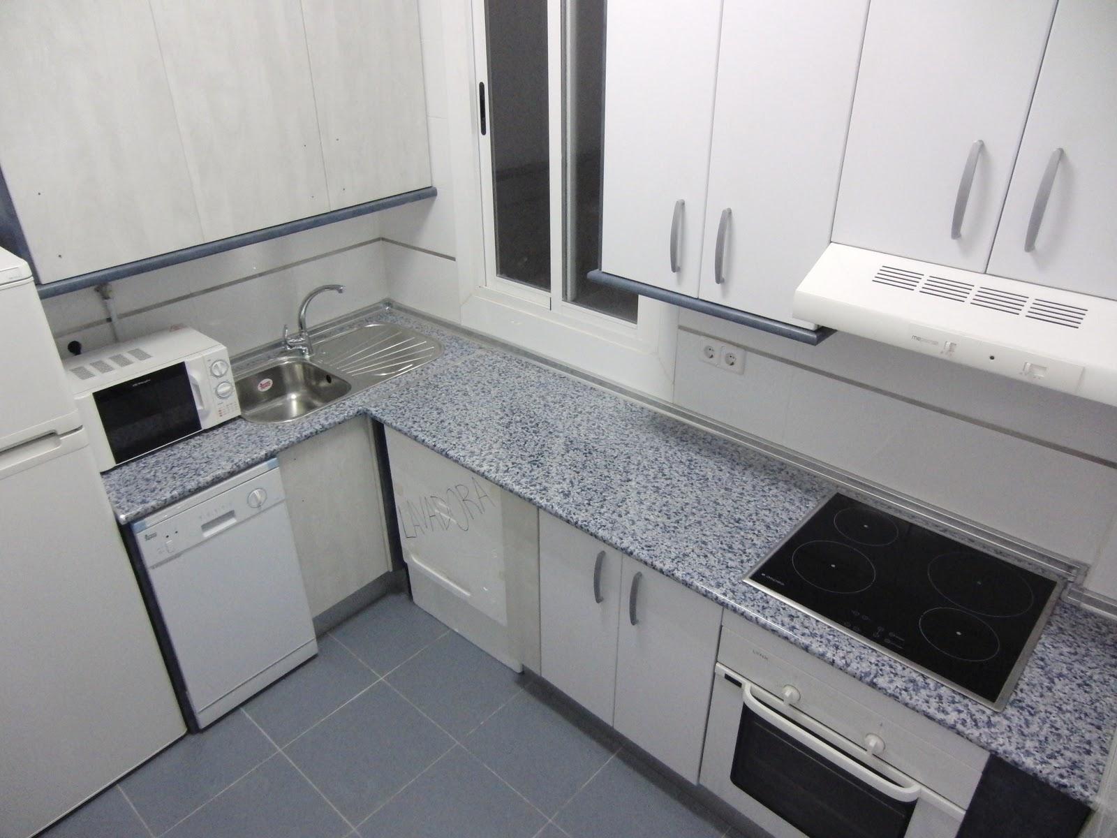 Piso Madrid 3hab. Zona Manuel Becerra-Goya: Cocina y baño