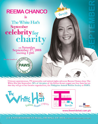 Reema Chanco & White Hat Fundraising for PAWS