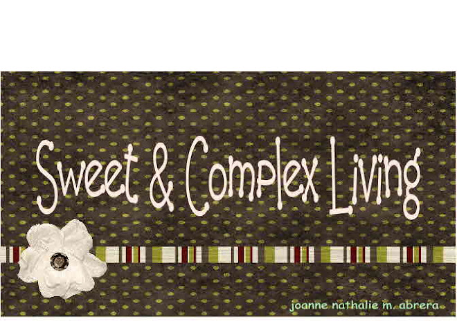 sweet and complex living