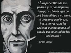 Frase de Bolívar
