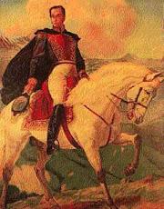El caballo de Bolivar