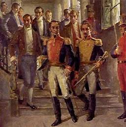 Bolívar y Francisco de Miranda