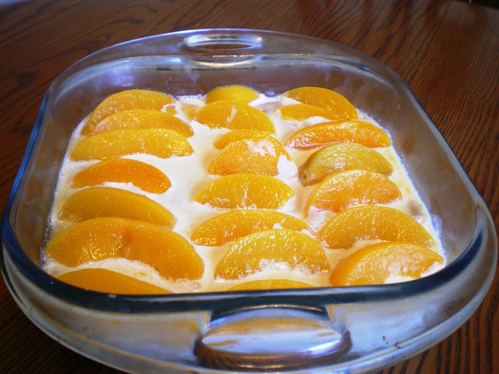 Peach Refrigerator Cake is a no cook and easy cake recipe that ...