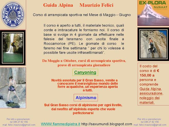Corso di Arrampicata Sportiva e Alpinismo - Maurizio Felici Ex-Plora Nunaat International