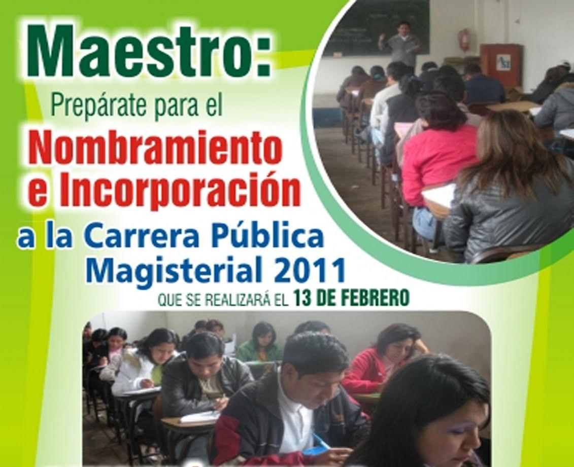 de INCORPORACIÓN 2011 de Profesores del 2do Nivel al 5to Nivel de