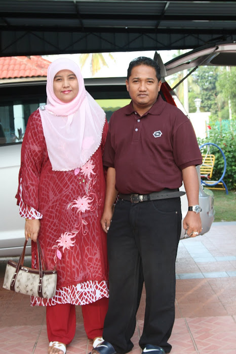 Bersama isteri tersayang