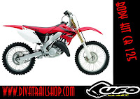Body kit Ufo plast Honda Cr 125-250