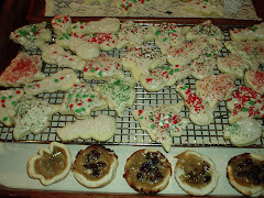 Our Christms Baking in the new stove