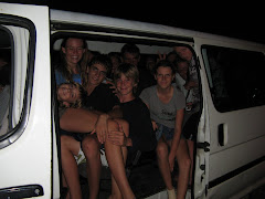 our full van - we all pile out for dinner at Fa Fa La Fa's