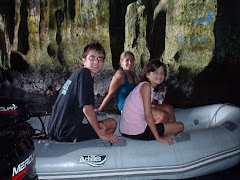Kyle and buddies in the Swallows Cave