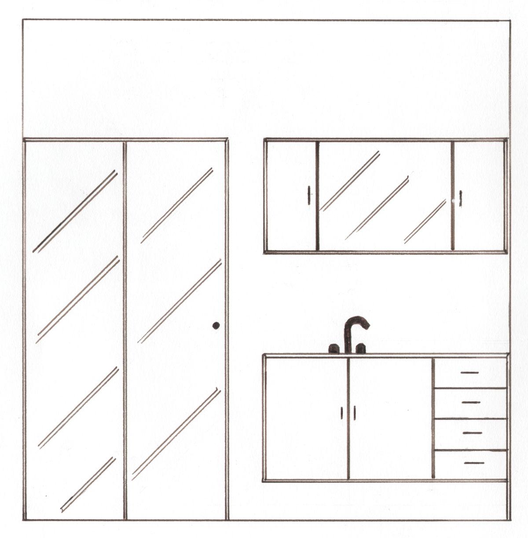 Elaine Dellaqua Projetos de Interiores e Maquetes 3D: Desenho de  #594A45 1200 1224