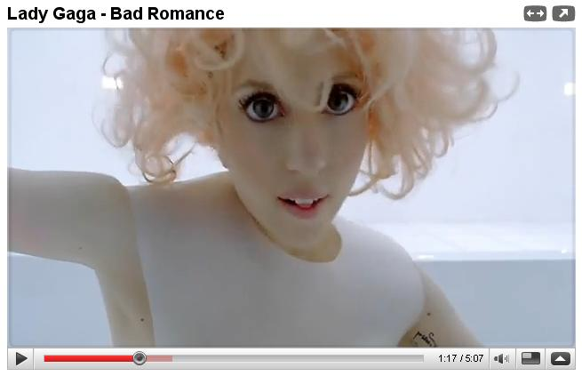 Lady Gaga circle contacts doll eyes. Of all the oddball beauty fads that