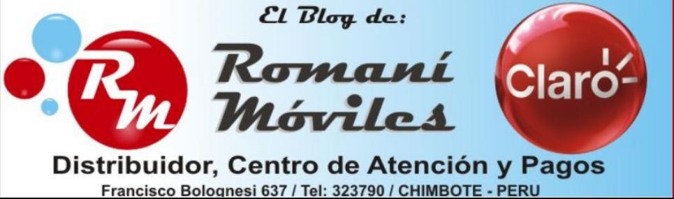 ROMANI MOVILES SAC Distribuidor, Atención y Pagos