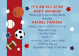 etsy sports theme baby shower invitations  amanda g. whitaker, Baby shower invitations