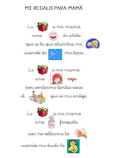 poemas bellos para el dia de la madre