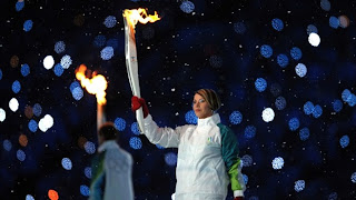 Olympic Torch Malfunction