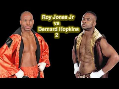 Roy Jones Jr vs Bernard Hopkins video